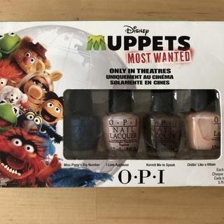 【 O.P.I × Disney 】Muppets Most W...
