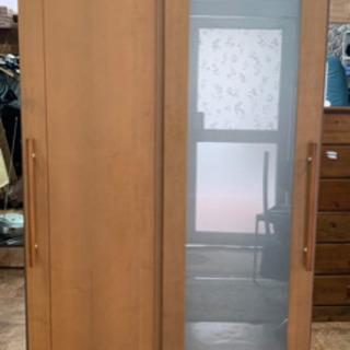 【値下げしました】マルヨシ民芸家具 ワードローブ 衣装 服つり ...