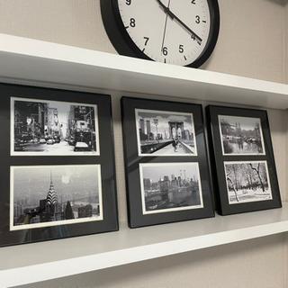 ニューヨークの写真 ウォールアート3点セット