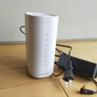 【値下げ】UQ WiMAX HOME 01 設置型WiFiルーター