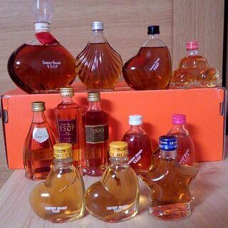 ちょっとかわいいブランデー&ウイスキー:ハート型VSOP、…