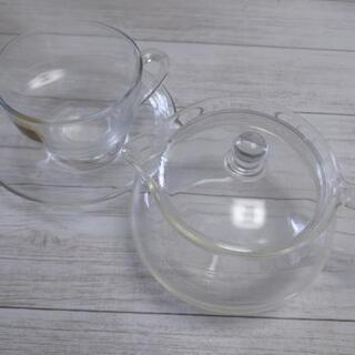 【ネット決済】ガラスティーセット