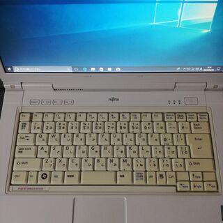 (代引可能)WIN10 FUJITSU FMV BIBLO NF40W(5台目) - パソコン