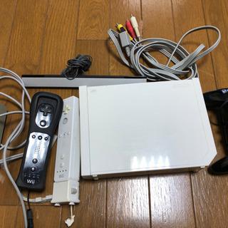 【ネット決済】wii 本体+ソフト5本セット