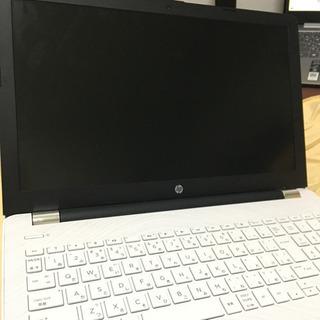 HP ノートパソコン。