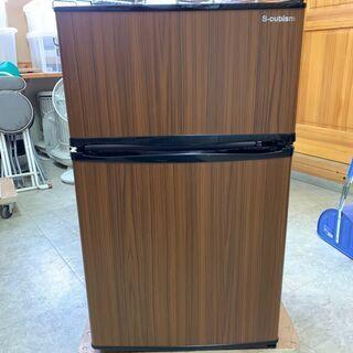 【ネット決済・配送可】★美品★2D冷蔵庫 90L WR-2090...
