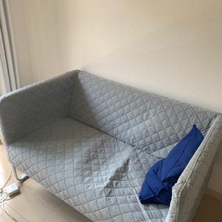 【取りに来てくれる方限定】IKEA 2人がけ用ソファ