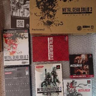 【ネット決済・配送可】PS2 メタルギアソリッド シリーズ 1 ...