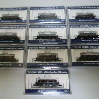 Nゲージ TOMIX 国鉄貨車チ1形タイプ(木材付)10両