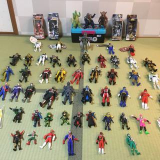 仮面ライダー ウルトラマン 戦隊ヒーロー フィギアセット