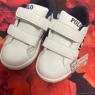 【ネット決済】【新品未使用】POLOラルフローレン 子供靴13.0cm