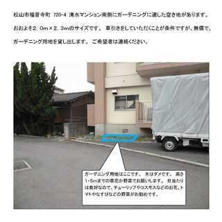 松山市福音寺、ガーデニングいかがですか?