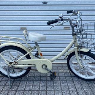 【ネット決済・配送可】【子供用自転車】16インチ 補助輪なし ス...