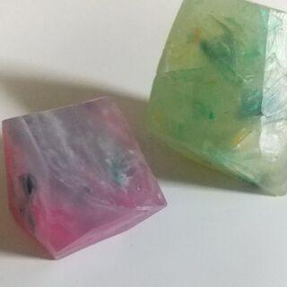 6月2日(水)3(木)宝石石鹼、贈っても飾っても使っても素敵なア...