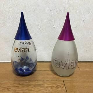 ★限定品★ エビアン イヤーボトル 記念ボトル 1L 2本組 e...