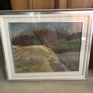 絵画 田舎の風景画