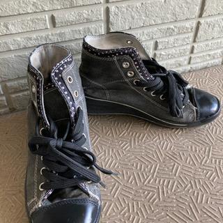 【中古品】レディース スニーカー  靴 Mサイズ
