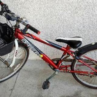 人気商品スピード あさひサイクル購入 男の子自転車 24インチ
