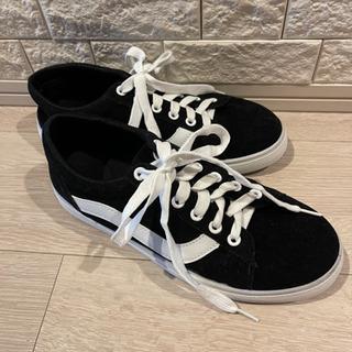 ほぼ新品 レディース 靴 黒 ブラック