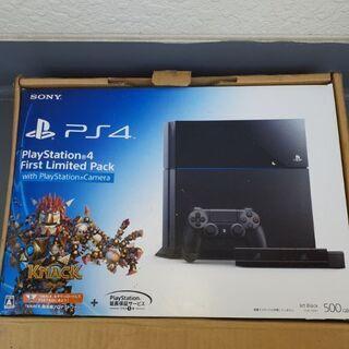 【ネット決済・配送可】PS4 500GB売ります