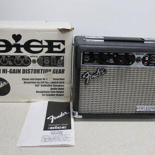 🎸ほぼ新品 Fender Japan DICE エレキ用コンボア...