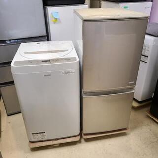 smh売約済み❌SHARP 家電2点セット(洗濯機・冷蔵庫)