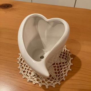 植木鉢 (ハート型)