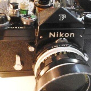 NikonF ブラック アイレベル&FTNファインダー ケース+...