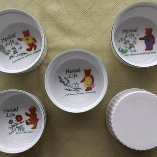 陶器ココット  5個セット    中古品