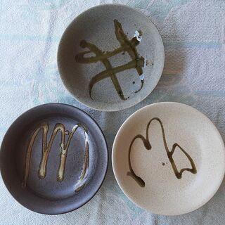 陶器 丸皿  5枚セット