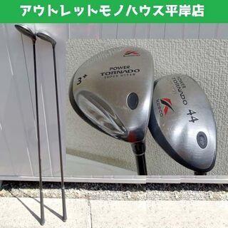 ゴルフクラブ 2本セット★ 右 kasco POWER TORN...