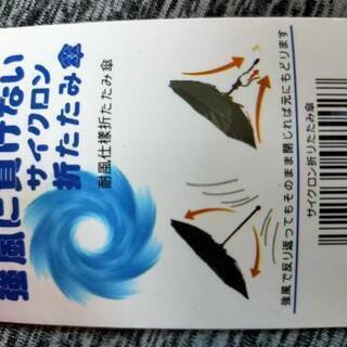 【ネット決済】風に強ーい、折りたたみ傘