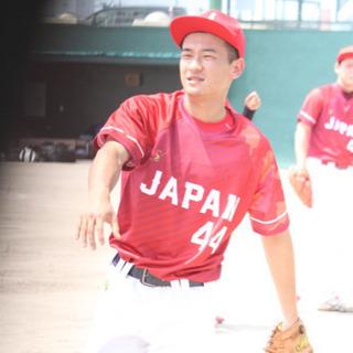 元軟式野球日本代表の野球指導