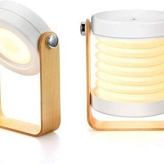 【新品・未使用】LEDベッドサイドランプ