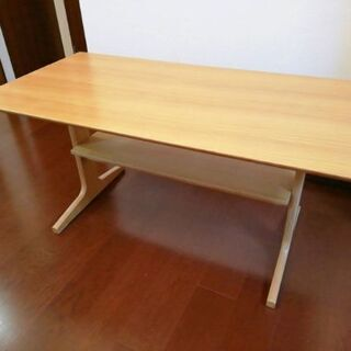 無印良品 リビングでもダイニングでも使えるテーブル 130cm ...