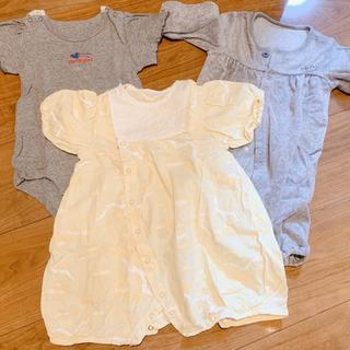 ベビー服 女の子3着セット 50、60、70サイズ