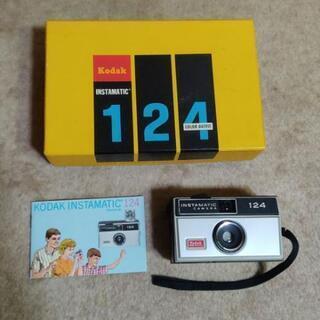 コダック インスタマチック124 フィルム カメラ