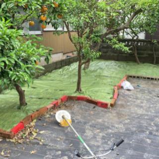 お家のゴミ片付け、草刈りします。