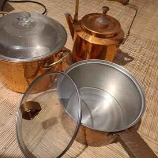 【最終値下げ】プロも愛用❗銅製鍋セット‼️