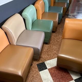 ぐるぐるレトロな椅子