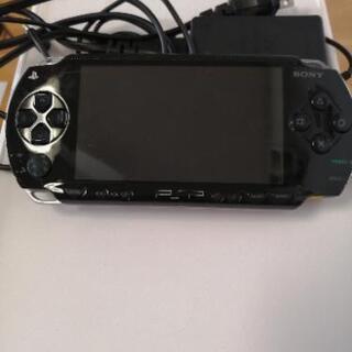 PSPゲーム機+ゲームソフト