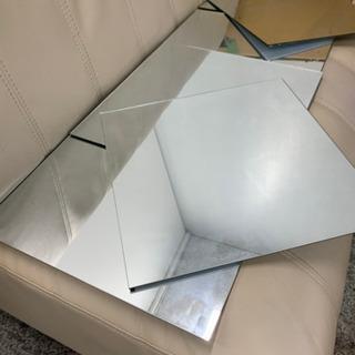 35cm角 6枚 ただの鏡です! ミラープレート 🌈 しげん屋 - あま市