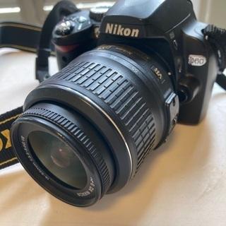 【ネット決済・配送可】一眼レフカメラ ニコンD60