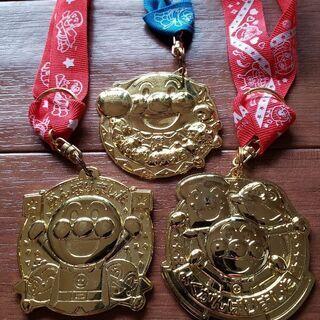 アンパンマン 金メダル 3個