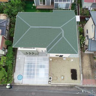 建物屋根・壁の点検撮影