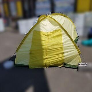 【¥1,650-】ジャパーナ ドームテント ソロテント 緑系 雨...