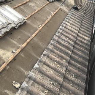 見積もり無料!屋根の修理#便利屋作業・営繕作業#屋根の修繕#瓦の...