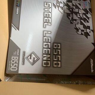 AMD AsRock マザーボードB550 SteelLegen...