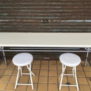 デコラ折りたたみテーブル 椅子セット 会議 作業用