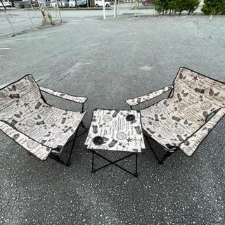 再度値引きしました。折りたたみ式椅子